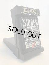 No.218 ROLLING STONES ZIPPO ローリングストーンズ ウィズスタンド z-1681