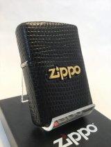 No.200 レザーシリーズZIPPO リザード ブラック z-1903