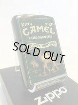 No.200  CAMEL ZIPPO キャメル アンティークグリーン メタル z-1922