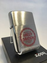 No.200 HARIEY DAVIDSON ZIPPO ハーレーロゴ レッド z-1946