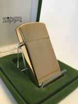 No.1830 10K GOLD FILLED ZIPPO ゴールド・フィルド スリムタイプ z-2224