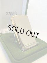 No.1500GP-18K スターリングシルバーGOLD PLATED ZIPPO 18Kゴールド・プレイト z-2446