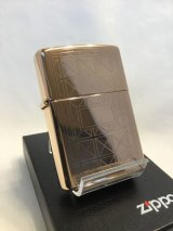No.593RG ヴィンテージZIPPO 1999年製 ROSE GOLD GEOMETRICS ローズゴールド ジオメトリック z-2547