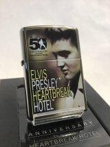 No.150 ELVIS PRESLEY エルビス・プレスリー HERTBREAK HOTEL 50周年記念 限定ZIPPO z-2666