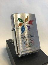 No.200 NAGANO OLYMPIC ZIPPO 長野オリンピック オフィシャルデザイン z-2682