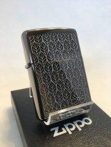 No.150 PVDシリーズ BLACK ICE ZIPPO ブラックアイス リーフ z-577