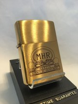 No.204 ヴィンテージZIPPO 1992年製 MHR MAHARA MONTRES マハラモントレス z-2890