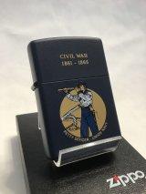 No.220 ヴィンテージZIPPO 1991年製 CIVIL WAR アメリカ南北戦争 z-2920